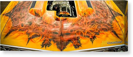 Hell Camino Canvas Print