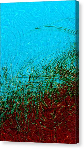 Hellfreezesover Canvas Print