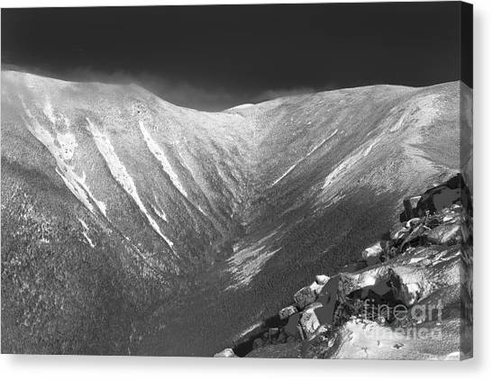 Canvas Print featuring the photograph Hellgate Ravine - White Mountains New Hampshire by Erin Paul Donovan