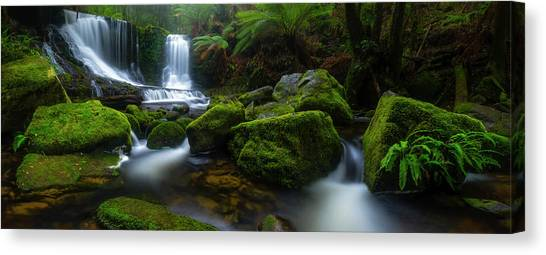 Waterfalls Canvas Print - Hello Horseshoe by Jason L. Stephens