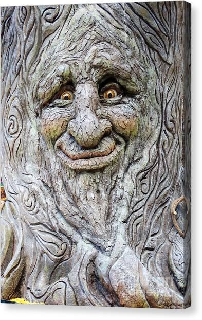 Hello Tree Canvas Print