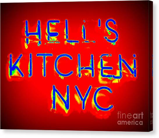 Hell's Kitchen Nyc Canvas Print