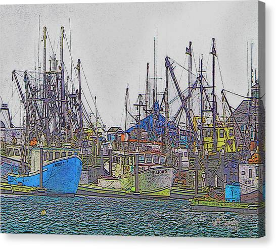 Helltown Canvas Print