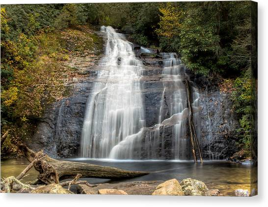 Helton Creek Falls Canvas Print