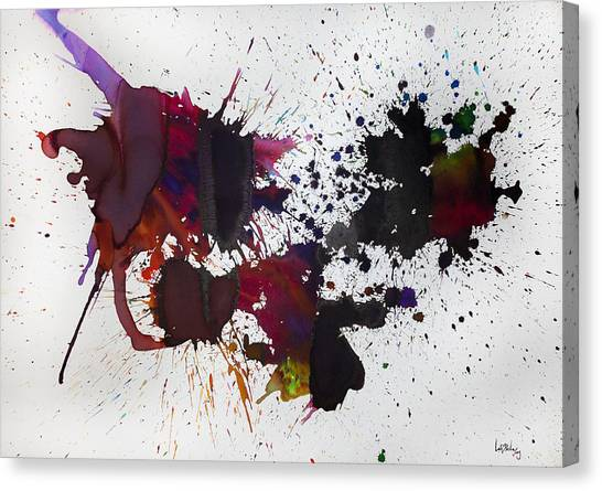 Hemisferio Canvas Print by Laura Benavides Lara
