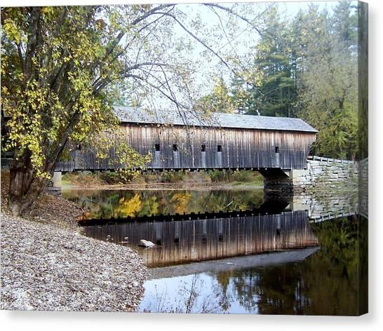 Hemlock Covered Bridge Canvas Print