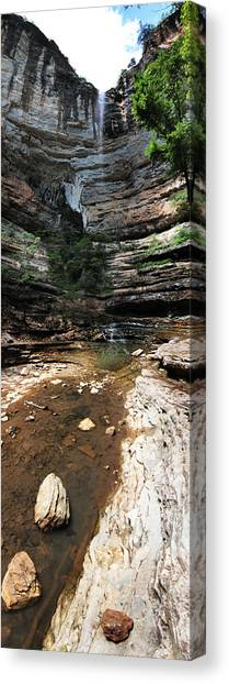 Hemmed In Hollow Canvas Print by Maxwell Amaro