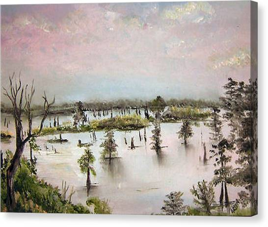 Henderson Swamp Canvas Print