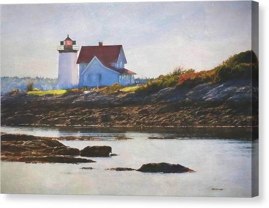 Hendricks Head Lighthouse - Maine Canvas Print