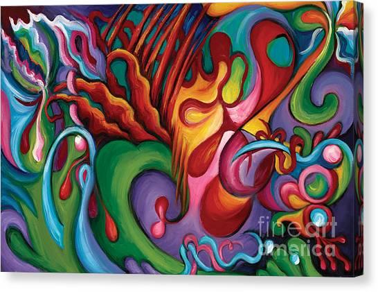 Hendrix Voodoo Magick Canvas Print