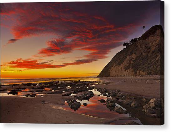 Hendry's Beach  Mg_1327 Canvas Print