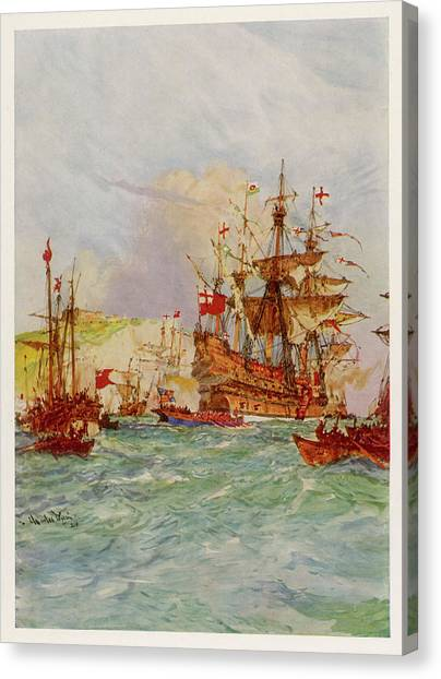 Henry Grace-a-dieu, Also Known Canvas Print by Mary Evans Picture Library