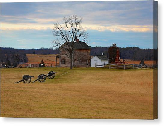 Henry House At Manassas Va Canvas Print