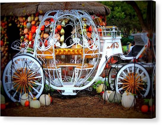 Her Chariot Awaits Canvas Print by Sherwanda  Irvin