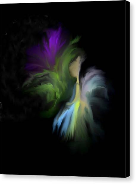 Her Favorite Flower Canvas Print