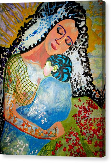 Her Love Canvas Print