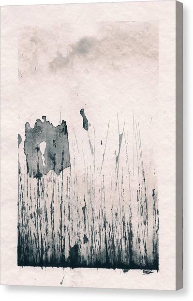 Herbes Souillees Canvas Print