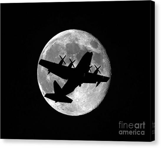 Hercules Moon Canvas Print