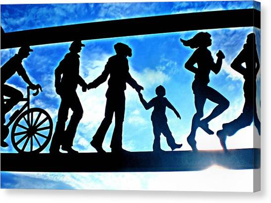 Here Comes The Sun Canvas Print by Bill Noonan