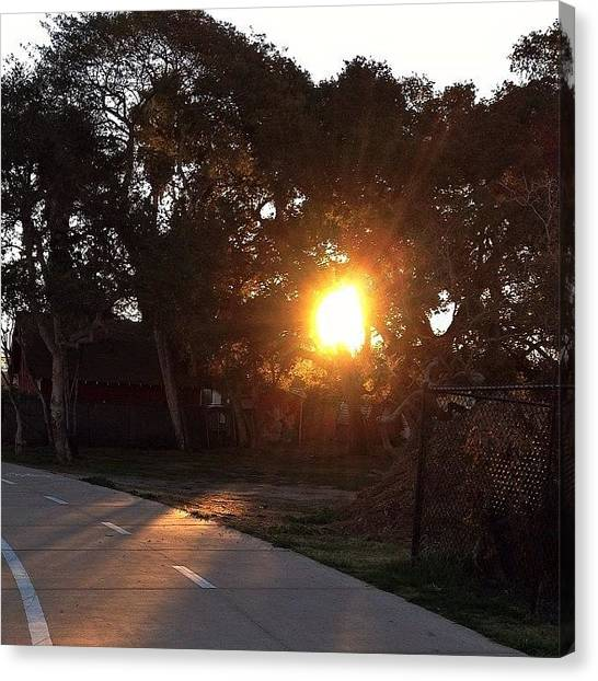 Ucsb Canvas Print - Here Comes The Sun. Have A Beautiful by Mckenzie Kane