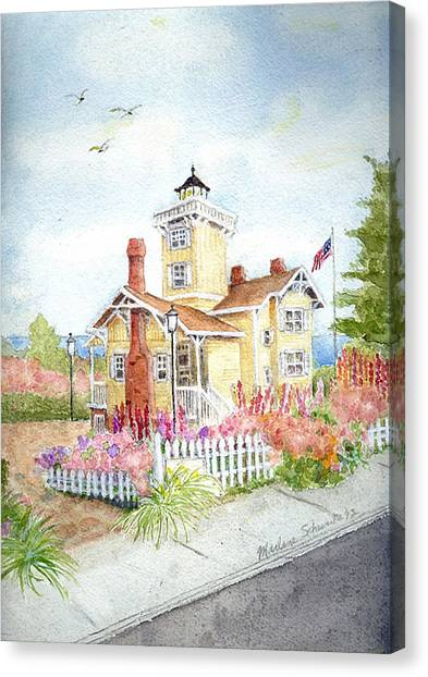 Hereford Inlet Lighthouse Canvas Print