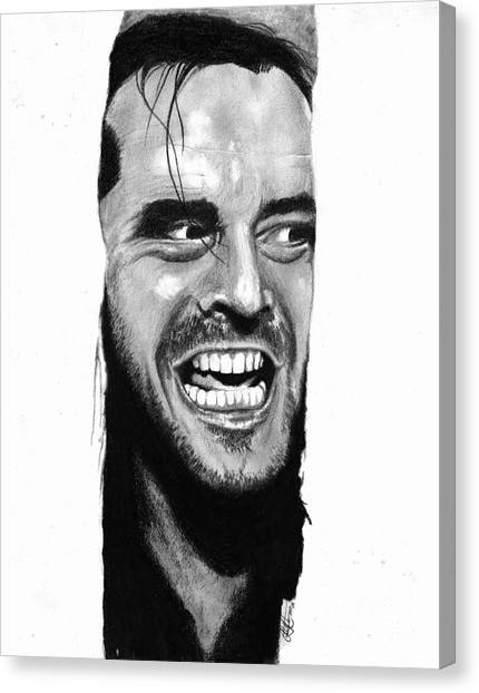 Here's Johnny Canvas Print