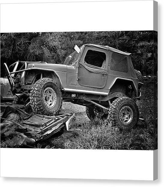 Offroading Canvas Print - Here's One From The Other Day by James Crawshaw