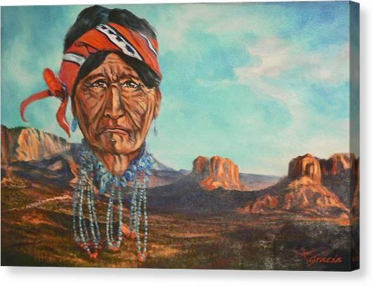 Heritage Landscape Canvas Print