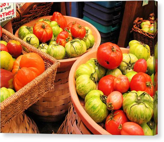 Heritage Tomatoes Canvas Print