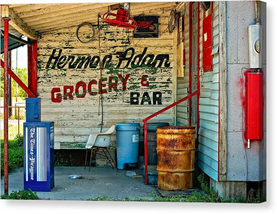 Herman Had It All Canvas Print