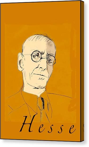 Herman Hesse Canvas Print