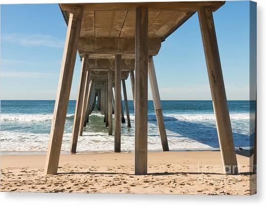 Hermosa Beach Pier Canvas Print