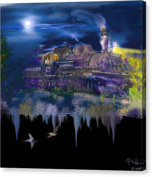 Hermosa Night Canvas Print