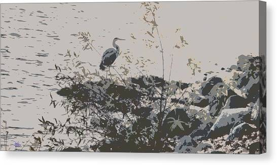 Silent Lake Canvas Print