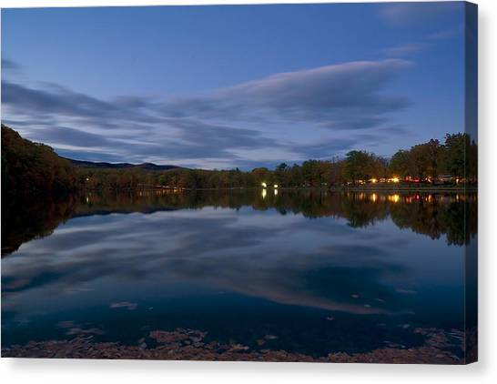 Hessian Lake Canvas Print