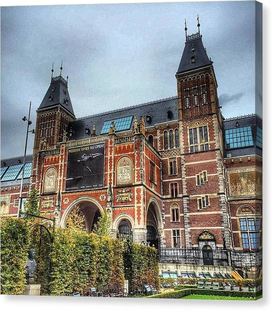Rijksmuseum Canvas Print - Het Rijksmuseum Amsterdam ... One Of by Maritha Graph