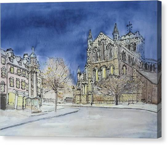 Hexham Abbey England Canvas Print