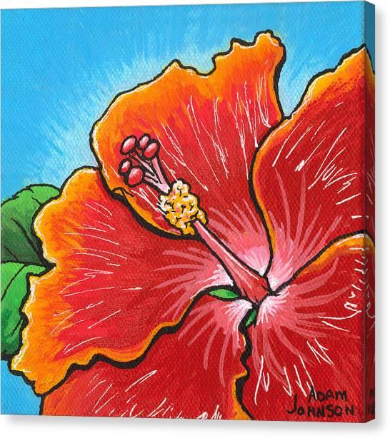 Hibiscus 06 Canvas Print
