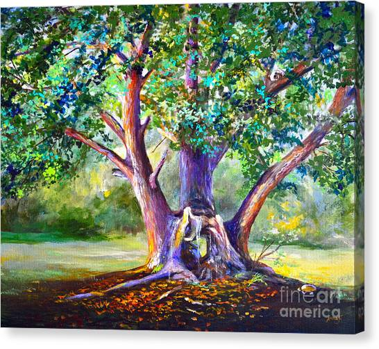 Hickory Hollow Canvas Print