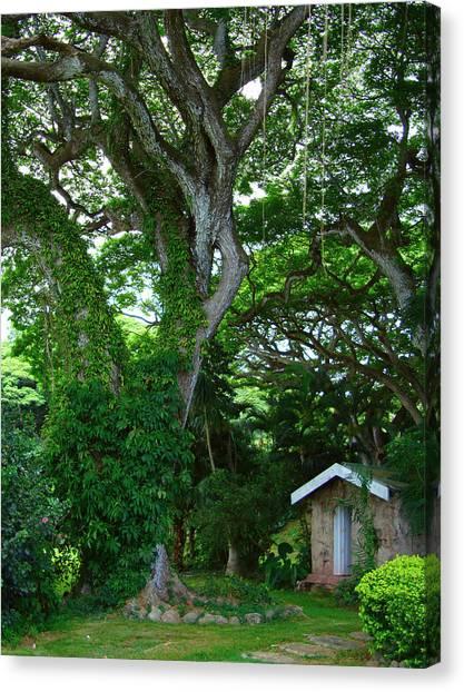 Hidden Cottage Canvas Print