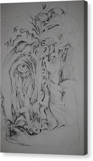 Hidden Faces Canvas Print by Moshfegh Rakhsha