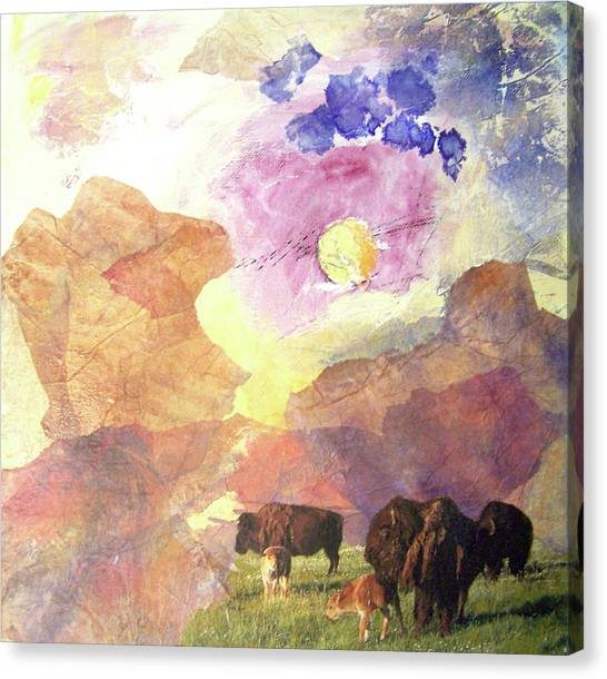 Canvas Print - Hidden Plateau by MtnWoman Silver