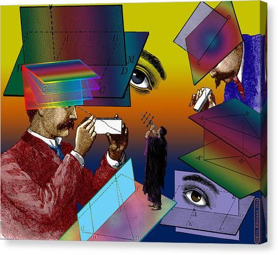 Hide And Seek Canvas Print by Eric Edelman