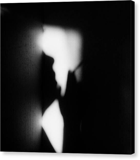 Nose Canvas Print - Hieroglyph Of Loneliness by Lilianna Hakhverdyan