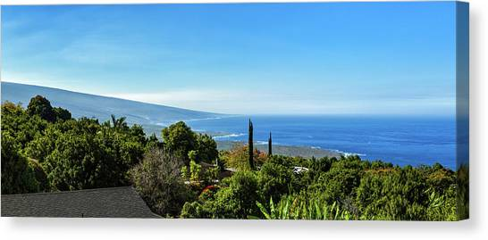 Mauna Loa Canvas Print - High Angle View From South Kona by Panoramic Images