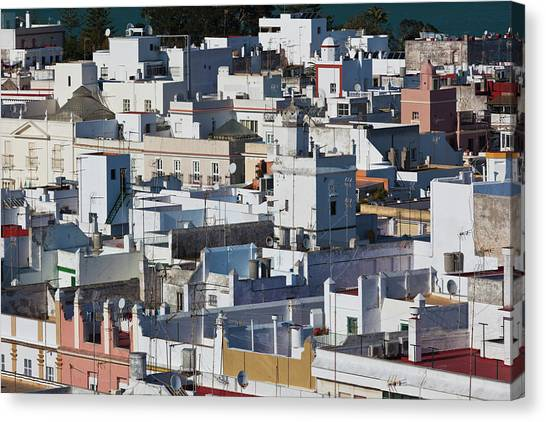 Andalusia Canvas Print - High Angle View Of A City, Cadiz by Panoramic Images