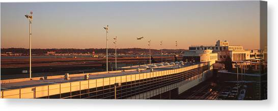 Washington Nationals Canvas Print - High Angle View Of An Airport, Ronald by Panoramic Images