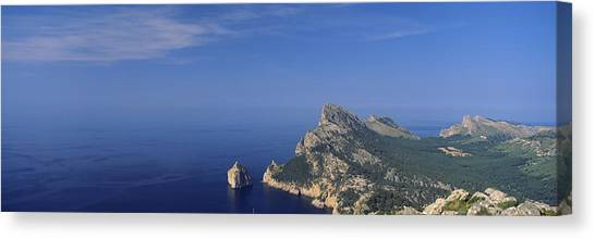 Mallorca Canvas Print - High Angle View Of An Island by Panoramic Images