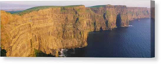 Ocean Cliffs Canvas Print - High Angle View Of Cliffs, Cliffs Of by Panoramic Images