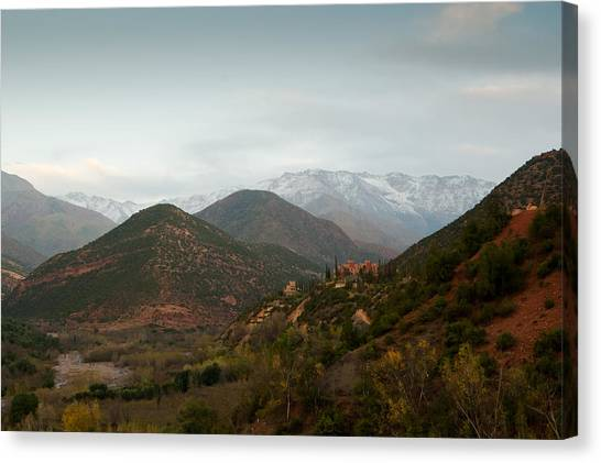High Atlas Canvas Print by Daniel Kocian